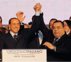 Berlusconi e De Gregorio