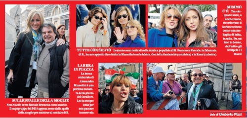 La piazza di Berlusconi.