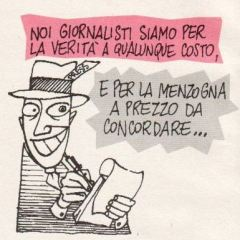vignetta giornalisti
