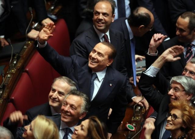 Silvio esulta