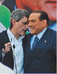 Alemanno-Berlusconi