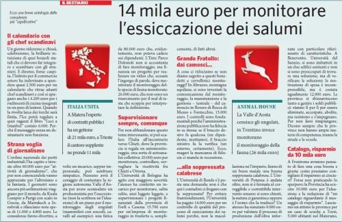 Il bestiario italiano