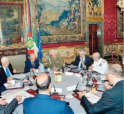 Consiglio supremo di Difesa