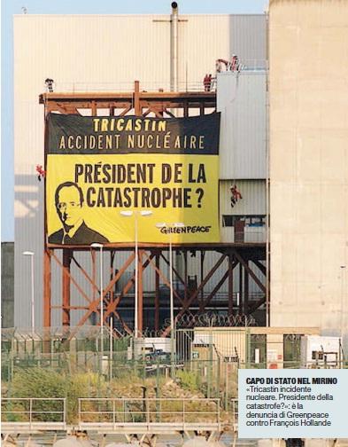 Greenpeace e il nucleare