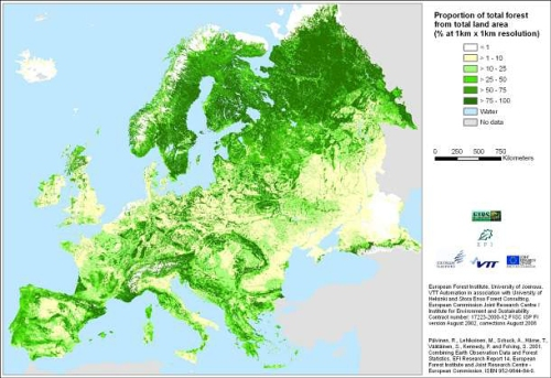 Foreste europee