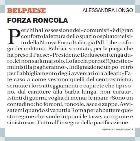Forza Roncola