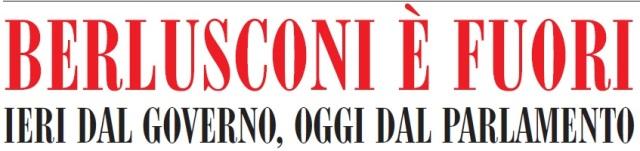 Berlusconi è fuori