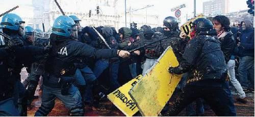 La protesta dei studenti
