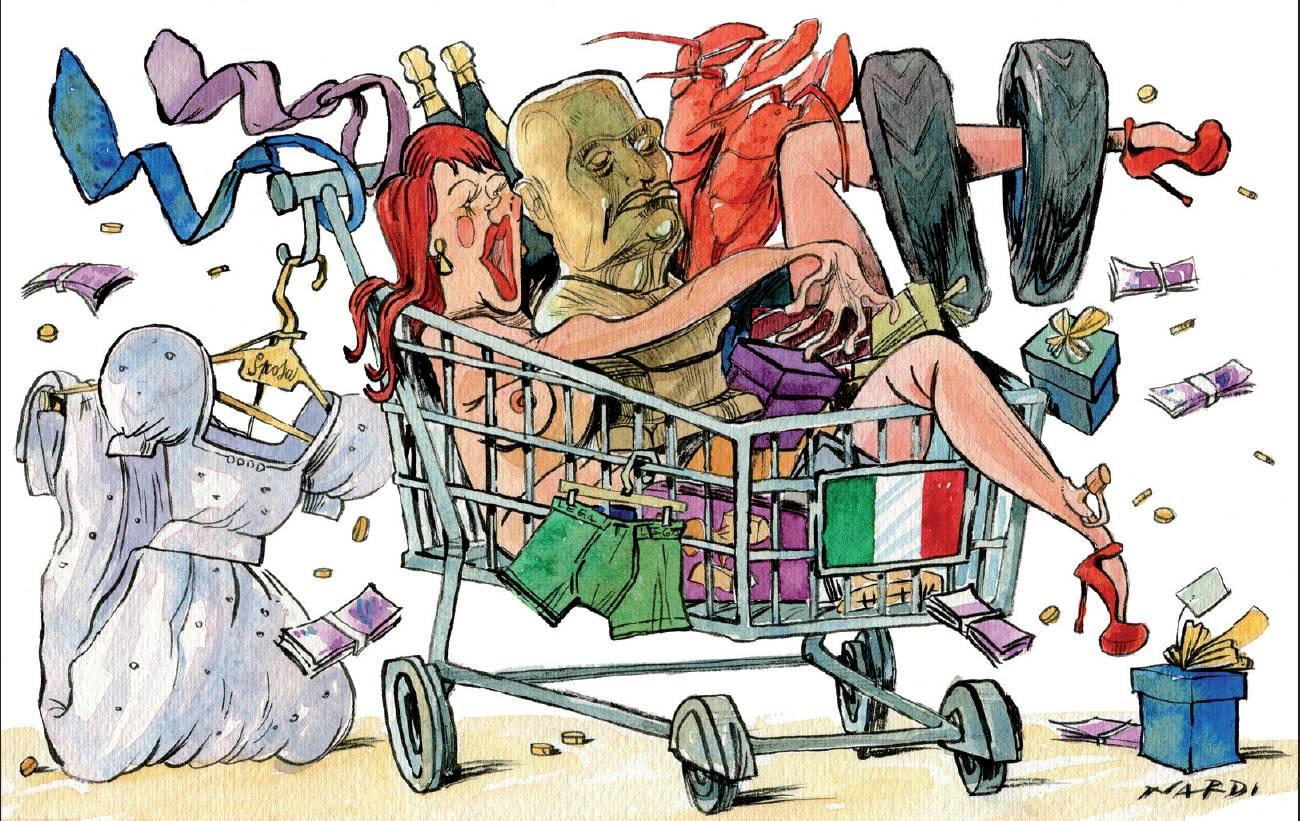 Tutti i ladri delle regioni loredana di cesare andrea for Gruppi politici italiani