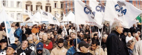 Artigiani e imprenditori in piazza