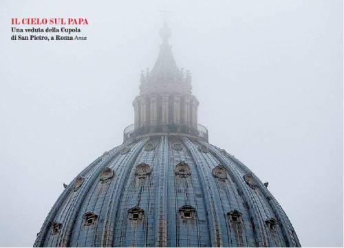 Il cielo sul Papa