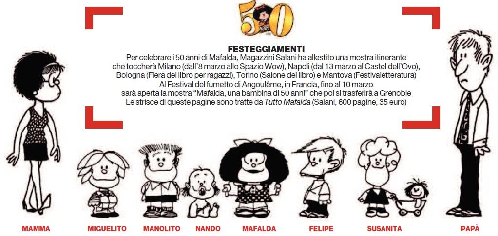 Una Splendida Cinquantenne Buon Compleanno Mafalda Concita De