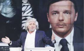 Beppe Grillo - Renzi