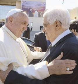 Papa e Abu Mazen