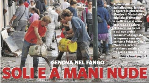 Genova del fango