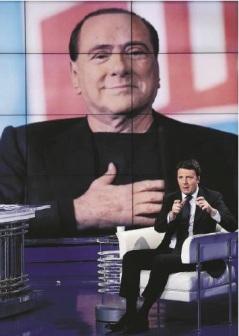 Berlusconi - Renzi