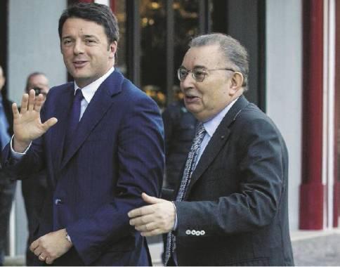 Renzi - Squinzi