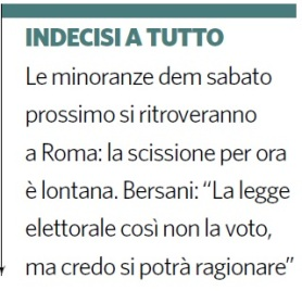 Indecisi a tutto