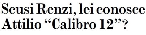 Scusi Renzi