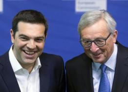 A Bruxelles, Tsipras e Juncker