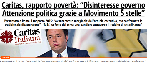 Fatto Quotidiano homepage del 15/09