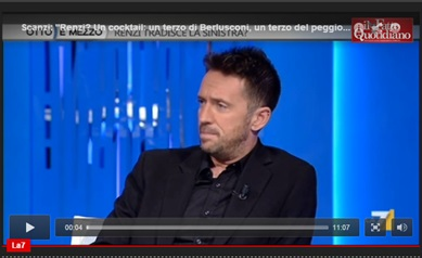 Quando guardo Renzi (Andrea Scanzi)   Triskel182