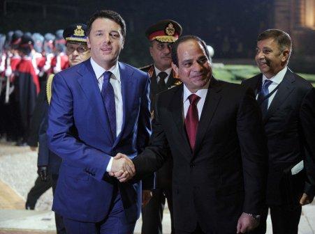 libia-renzi-al-sisi
