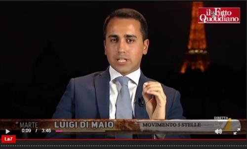 """Filippo Nogarin, Di Maio (M5S): """"Vogliamo sapere che condotta gli si contesta"""""""