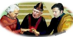 Verdini, Napolitano, Renzi