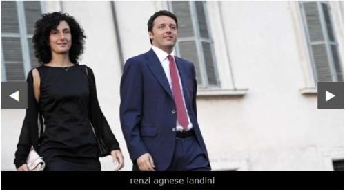 """MIRACOLO ITALIANO! AGNESE LANDINI IN RENZI DIVENTA INSEGNANTE DI RUOLO – """"CASUALMENTE"""" E' STATA ASSUNTA CON CHIAMATA DIRETTA – LAVORERA' IN UN ISTITUTO LINGUISTICO"""