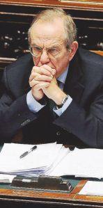 Camera dei Deputati. Pier Carlo Padoan in aula per il DDL salva banche